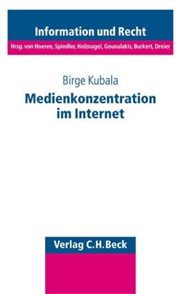 Abbildung von Kubala   Medienkonzentration im Internet   2004   Band 52