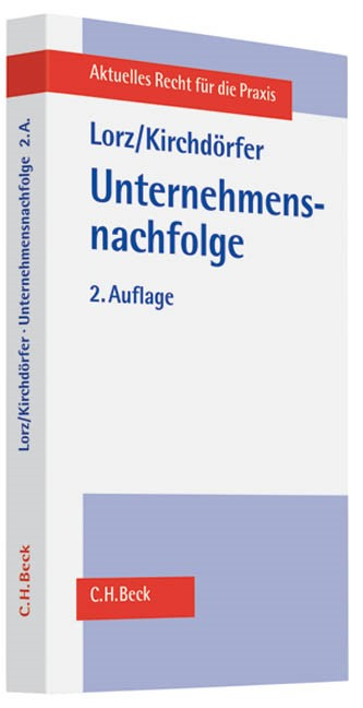 Unternehmensnachfolge | Lorz / Kirchdörfer | 2. Auflage | Buch (Cover)