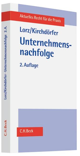 Abbildung von Lorz / Kirchdörfer   Unternehmensnachfolge   2. Auflage   2011