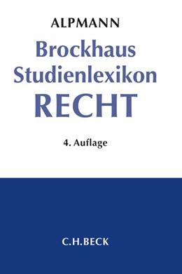Abbildung von Alpmann | Brockhaus Studienlexikon Recht | 4. Auflage | 2014
