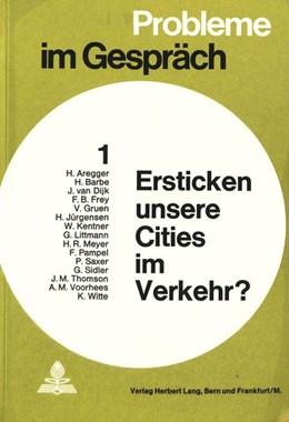 Abbildung von Ersticken unsere Cities im Verkehr? | 1972