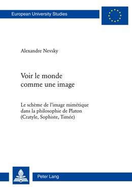 Abbildung von Nevsky | Voir le monde comme une image | 2011 | Le schème de l'image mimétique... | 739