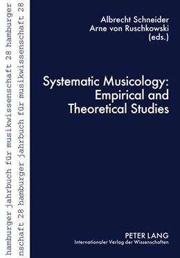 Abbildung von Schneider / von Ruschkowski | Systematic Musicology: Empirical and Theoretical Studies | 2011 | 28
