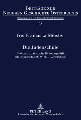 Abbildung von Meister | Die Judenschule | 2011 | Nationalsozialistische Bildung... | 28