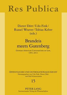 Abbildung von Keber / Weaver   Brandeis meets Gutenberg   1. Auflage   2012   15   beck-shop.de