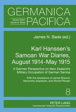 Abbildung von Bade | Karl Hanssen's Samoan War Diaries, August 1914-May 1915 | 2011 | A German Perspective on New Ze... | 8