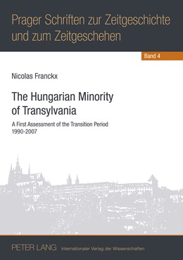 Abbildung von Franckx Ph.D. | The Hungarian Minority of Transylvania | 2011 | A First Assessment of the Tran... | 4