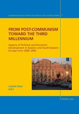 Abbildung von Baer | From Post-Communism toward the third Millennium | 2011 | Aspects of Political and Econo... | 7