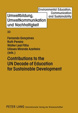 Abbildung von Gonçalves / Pereira / Leal Filho | Contributions to the UN Decade of Education for Sustainable Development | 2012 | 33