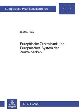Abbildung von Tilch | Europäische Zentralbank und Europäisches System der Zentralbanken | 2000 | 2617