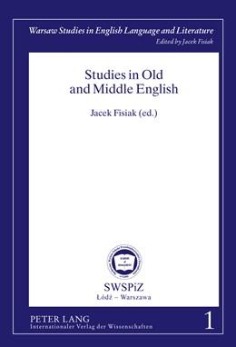 Abbildung von Fisiak   Studies in Old and Middle English   2011   1