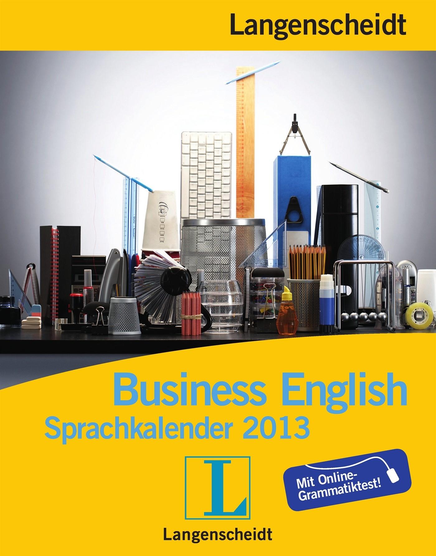 Langenscheidt Sprachkalender 2013 Business English, 2012 (Cover)