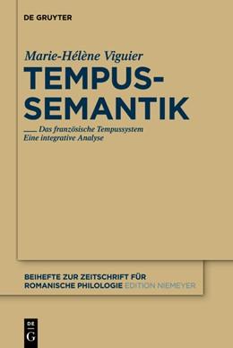 Abbildung von Viguier   Tempussemantik   1. Auflage   2012   Das französische Tempussystem ...