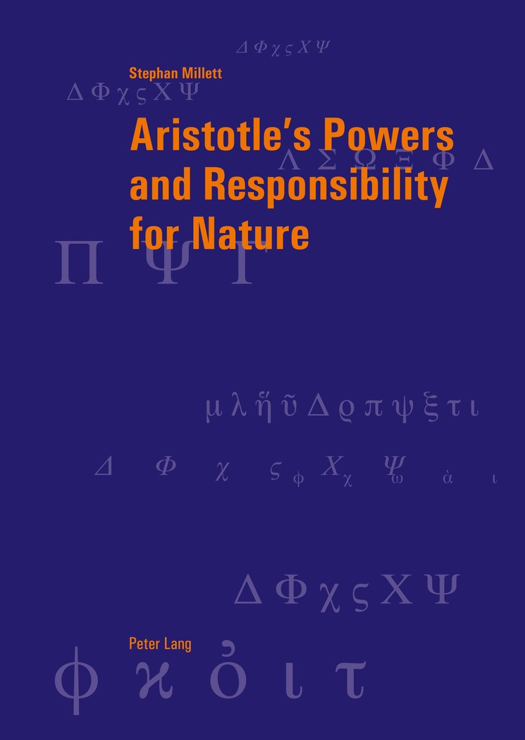 Abbildung von Millett | Aristotle's Powers and Responsibility for Nature | 2011