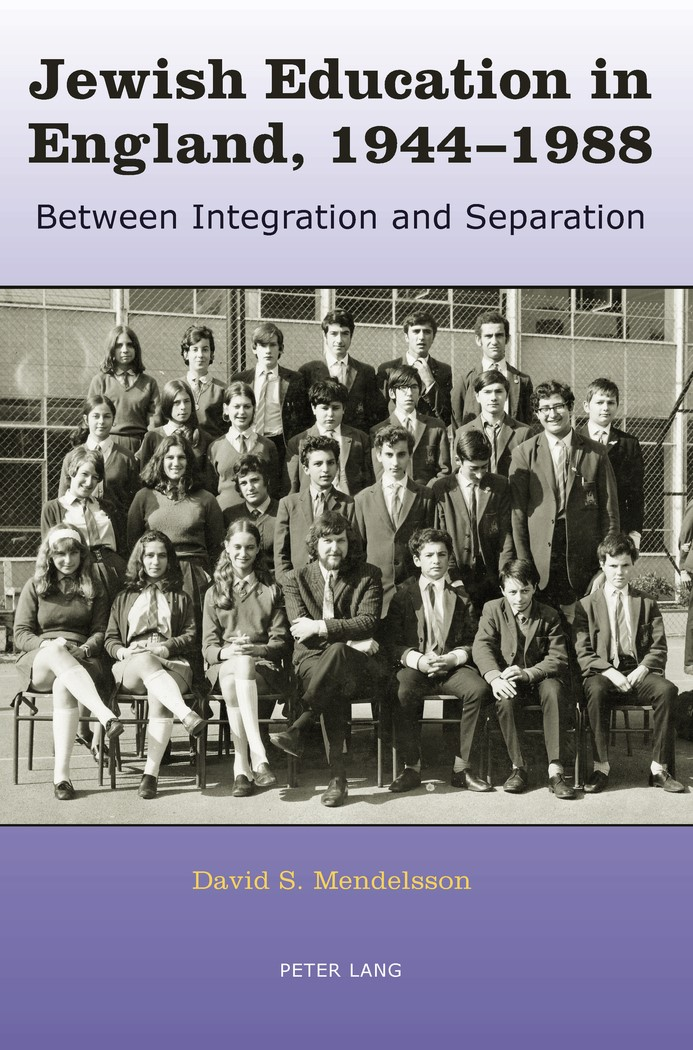 Abbildung von Mendelsson | Jewish Education in England, 1944-1988 | 2011