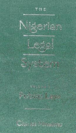 Abbildung von Mwalimu | The Nigerian Legal System | 2006 | Volume I: Public Law