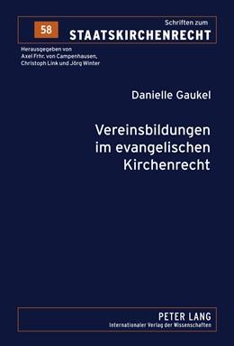 Abbildung von Gaukel | Vereinsbildungen im evangelischen Kirchenrecht | 2011 | 58