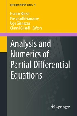 Abbildung von Brezzi / Colli Franzone / Gianazza / Gilardi | Analysis and Numerics of Partial Differential Equations | 2012 | 4