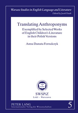 Abbildung von Fornalczyk   Translating Anthroponyms   2011   Exemplified by Selected Works ...   5