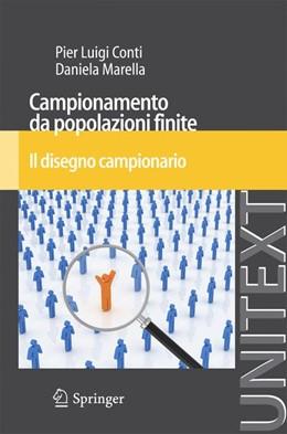 Abbildung von Conti / Marella   Campionamento da popolazioni finite   2012   Il disegno campionario