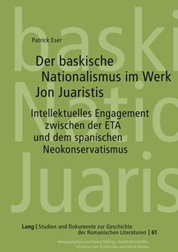 Abbildung von Eser | Der baskische Nationalismus im Werk Jon Juaristis | 2011 | Intellektuelles Engagement zwi... | 61