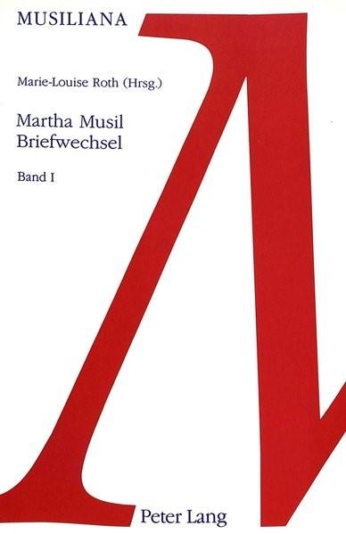 Abbildung von Musil | Martha Musil - Briefwechsel | 1997