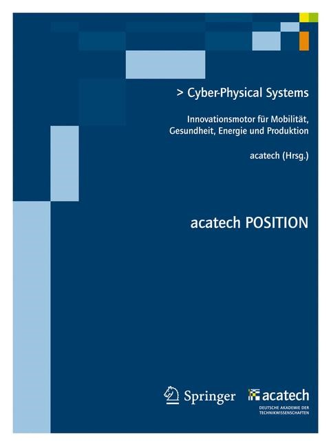 Cyber-Physical Systems | acatech, 2012 | Buch (Cover)