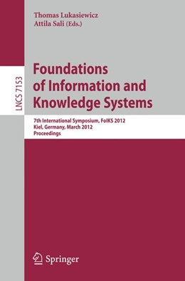 Abbildung von Lukasiewicz / Sali | Foundations of Information and Knowledge Systems | 2012 | 7th International Symposium, F...
