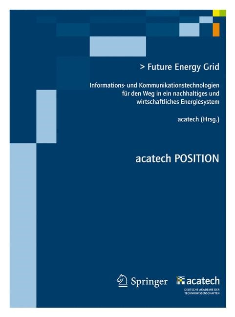 Future Energy Grid, 2012 | Buch (Cover)