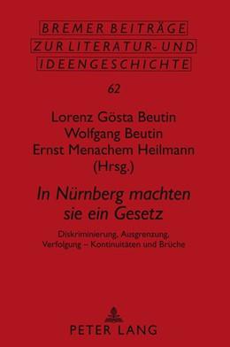 Abbildung von Beutin / Heilmann | In Nürnberg machten sie ein Gesetz | 2011 | Diskriminierung, Ausgrenzung, ... | 62
