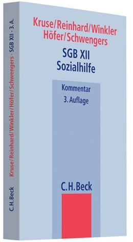 Abbildung von Kruse / Reinhard | SGB XII Sozialhilfe | 3. Auflage | 2012 | beck-shop.de