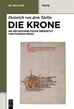 Abbildung von Heinrich von dem Türlin / Kragl | Die Krone | 2012