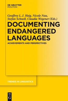 Abbildung von Haig / Nau / Schnell / Wegener | Documenting Endangered Languages | 2011 | Achievements and Perspectives | 240