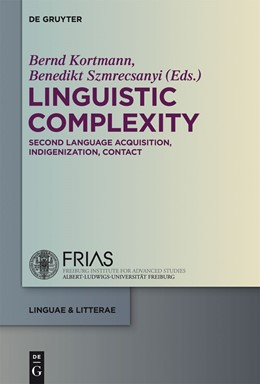 Abbildung von Kortmann / Szmrecsanyi | Linguistic Complexity | 2012 | Second Language Acquisition, I... | 13