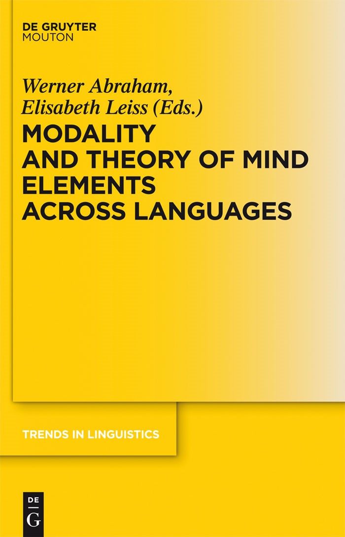 Abbildung von Abraham / Leiss | Modality and Theory of Mind Elements across Languages | 2012