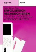 Erfolgreich recherchieren - Politik- und Sozialwissenschaften | Bove, 2012 | Buch (Cover)