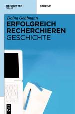 Erfolgreich recherchieren - Geschichte | Oehlmann, 2012 | Buch (Cover)