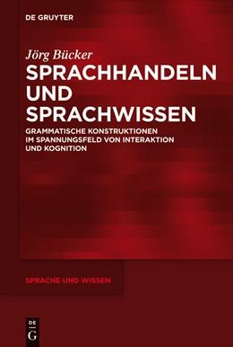 Abbildung von Bücker   Sprachhandeln und Sprachwissen   2012   Grammatische Konstruktionen im...   11