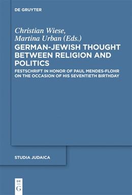 Abbildung von Wiese / Urban | German-Jewish Thought Between Religion and Politics | 2012 | Festschrift in Honor of Paul M... | 60