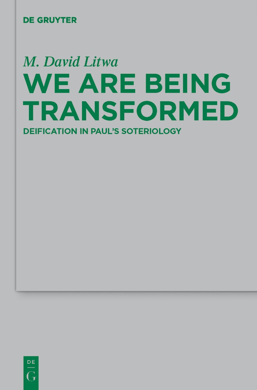 We Are Being Transformed | Litwa, 2012 | Buch (Cover)