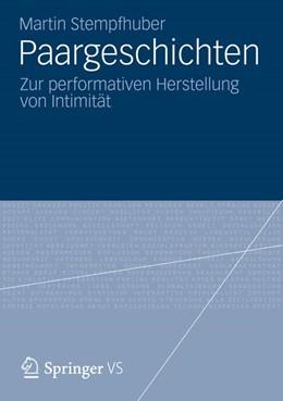 Abbildung von Stempfhuber   Paargeschichten   2012   Zur performativen Herstellung ...