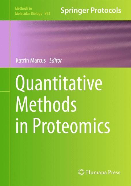 Abbildung von Marcus   Quantitative Methods in Proteomics   2012