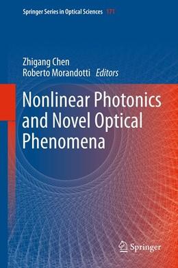 Abbildung von Chen / Morandotti | Nonlinear Photonics and Novel Optical Phenomena | 2012 | 170