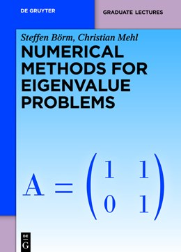 Abbildung von Börm / Mehl | Numerical Methods for Eigenvalue Problems | 1. Auflage | 2012