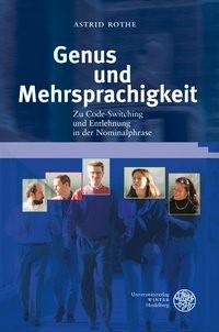 Abbildung von Rothe | Genus und Mehrsprachigkeit | 2012