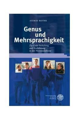 Abbildung von Rothe | Genus und Mehrsprachigkeit | 2012 | Zu Code-Switching und Entlehnu... | 44