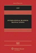 Abbildung von Chow / Schoenbaum | International Business Transactions | 2010