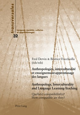 Abbildung von Fracchiolla / Dervin | Anthropologies, interculturalité et enseignement-apprentissage des langues- Anthropology, Interculturality and Language Learning-Teaching | 2012 | Quelle(s) compatibilité(s) ?- ... | 32