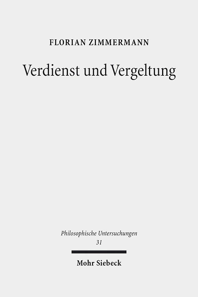 Abbildung von Zimmermann | Verdienst und Vergeltung | 1. Auflage 2012 | 2012