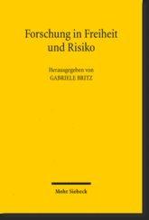 Abbildung von Britz | Forschung in Freiheit und Risiko | 1. Auflage 2012 | 2012
